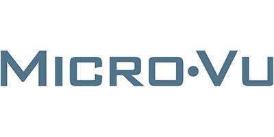 Logo der Firma Micro-Vu Europe GmbH